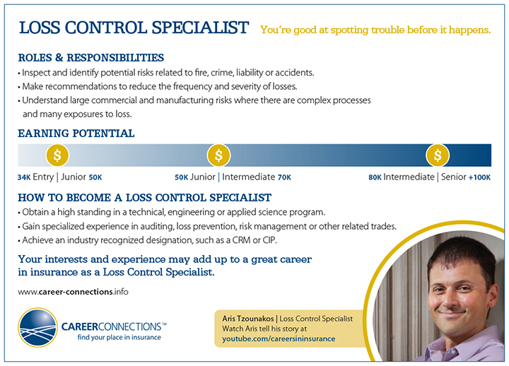 Loss Control Specialist – Loss Prevention Responsibilities